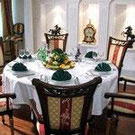 Столы обеденные, Обеденные группы