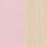 Дуб Белфорт/ Розовый металлик