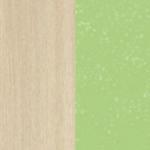 Дуб Белфорт/ Зеленый металлик